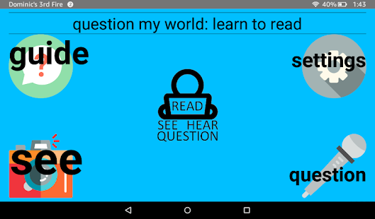 Question My World: Learn To Read- screenshot thumbnail