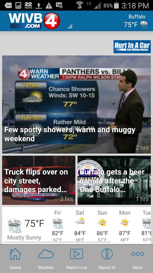 WIVB News 4- screenshot