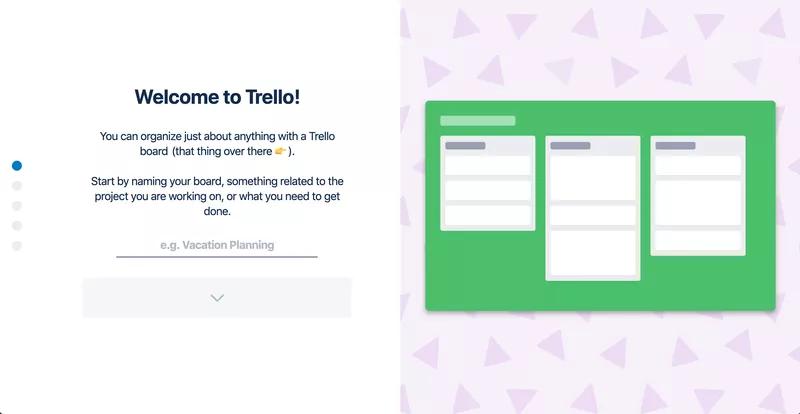 Trello - User Onboarding