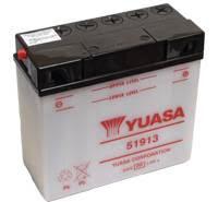 YUASA MC batteri 51913 19Ah/20h lxbxh=186x82x171mm