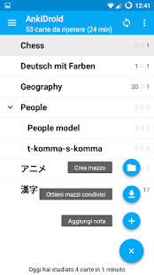 AnkiDroid flashcards- miniatura screenshot