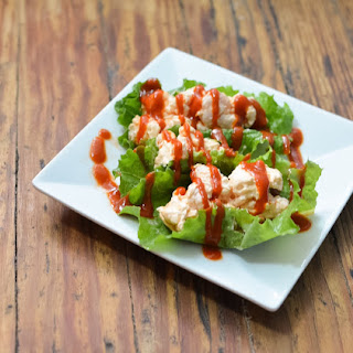 Low Carb Sriracha Shrimp Lettuce Cups