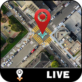 Live Map & Street View – Satellite Navigator