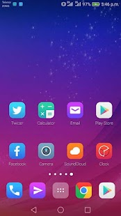 Theme for Gionee X1s - náhled