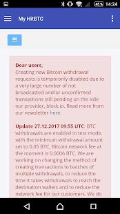 My HitBTC - náhled