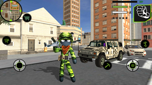 us army stickman rope hero mafia 2 1.0 screenshots 1