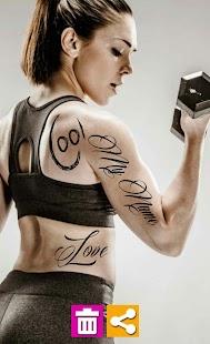 Photo Tattoo Editor screenshot