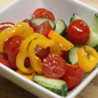 Marinated Tomato Salad.