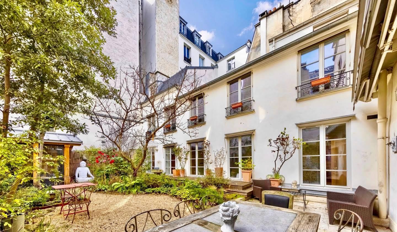 Hôtel particulier avec jardin Paris 5ème