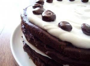 Karen's Black Forest Torte Cake Recipe