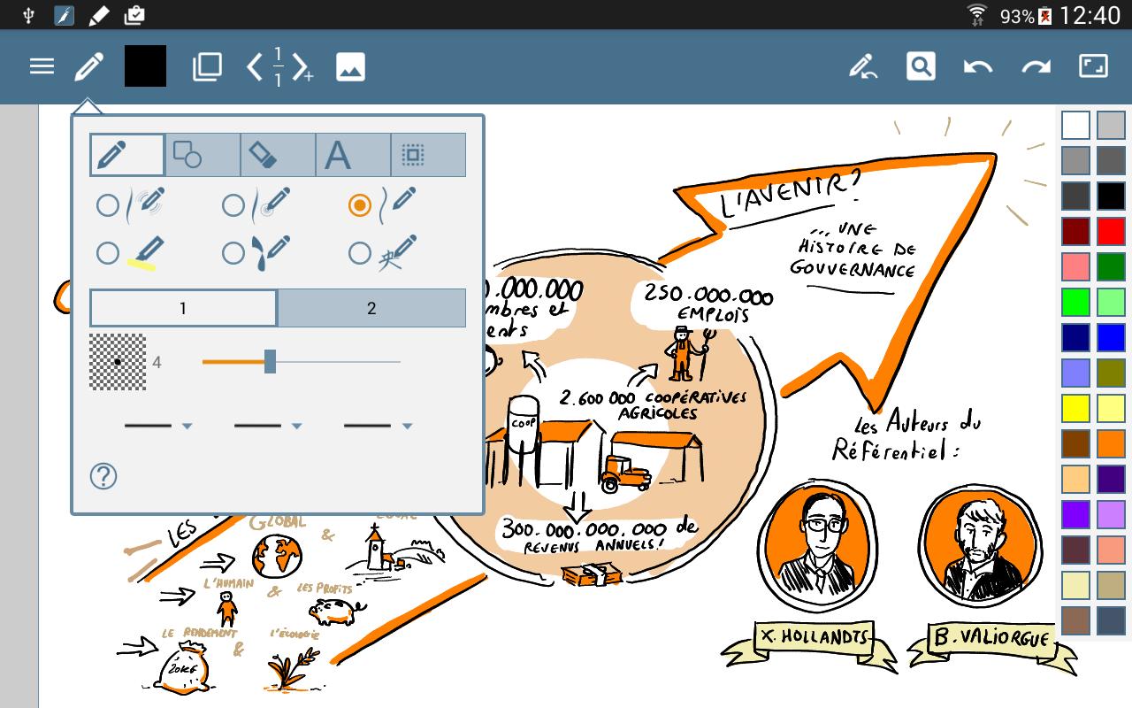 HandWrite Pro Note & Draw screenshot #3