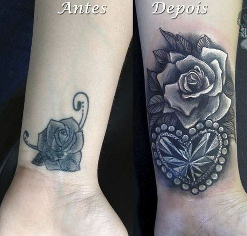 60 amazing cover up tattoos pictures before and after you for Wrist tattoo cover ups