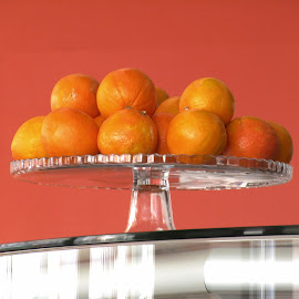 ORANGES IN THE BOWL by Aida Neves - Food & Drink Fruits & Vegetables