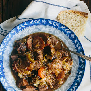 Bigos - Polish Hunter's Stew (Gluten-free, Paleo, Primal, Perfect Health Diet, Whole30).