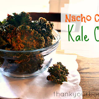 Nacho Cheese Flavored Kale Chips.