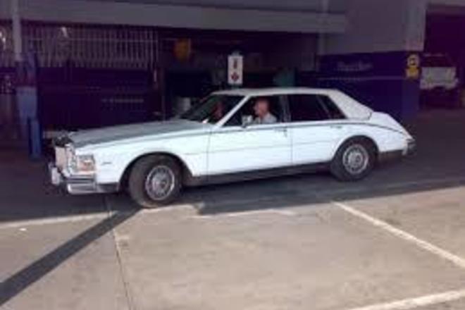 Wedding Vintage Cadillac Hire Los Angeles