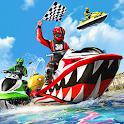 Water Jet Ski Boat Racing 3D icon