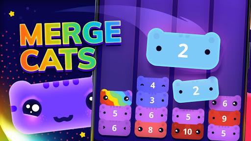 CATRIS - Merge Cat | Kitty Merging Game screenshots 1