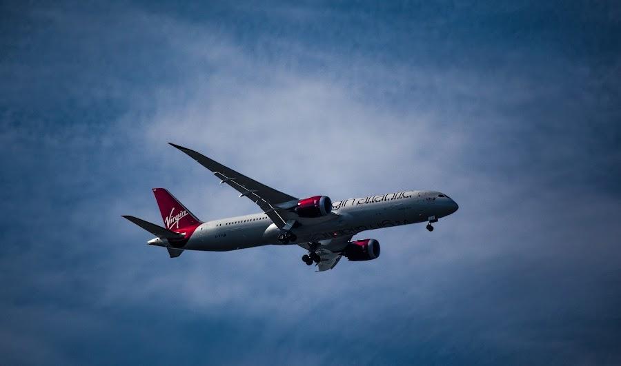 Virgin 787 by Scott Hay - Transportation Airplanes ( 787, aeroplane, airplane, boeing, virgin,  )