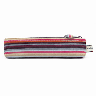 Stripe Pencil Tube