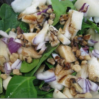 Spinach Pear Salad.