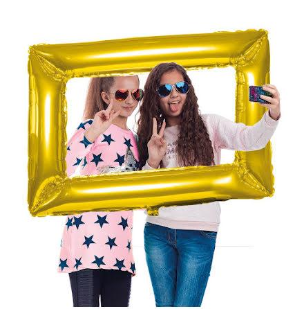 Folie fotoram, guld 85x60cm