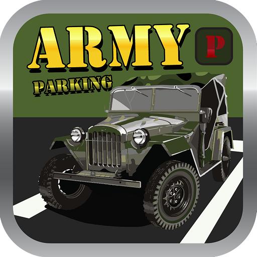 模拟のArmy Truck War Tank Parking LOGO-記事Game
