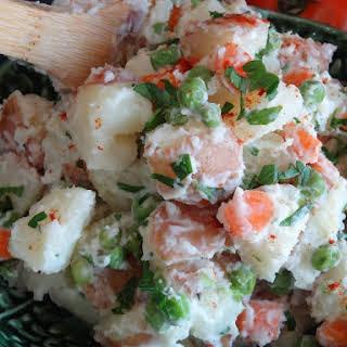 Portuguese Style Potato Salad.