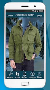 Men Jacket Photo Editor – Men Jacket Photo Editor - náhled