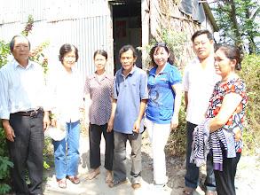 Photo: Anh Nguyễn văn Thanh và Chị Nguyễn thị Lan CN2, K7 cùng dự