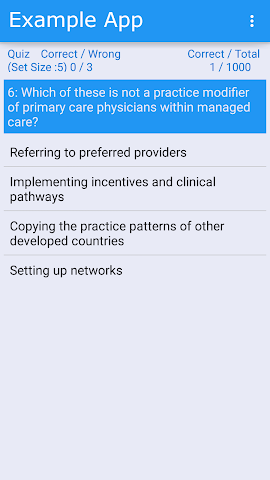 android Nurse Infection Control (CIC) Screenshot 2