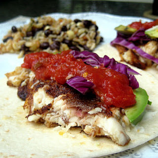Fish Tacos with Baja Cream