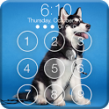 Siberian Husky Puppies Screenlock –PIN Lock Screen icon