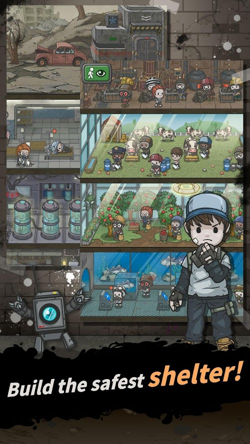 Screenshot 1 Underworld : The Shelter 1.5.8 APK MOD