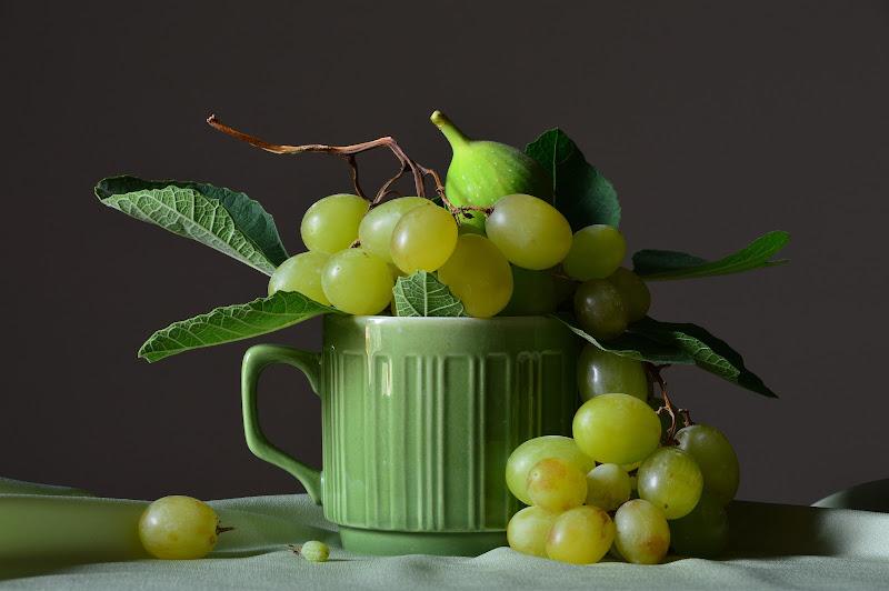 Tazza con uva e fico di Hesse