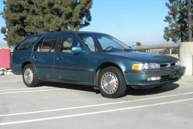 1991 Honda Accord EX rare Wagon Teal color w/leather Hire Bellflower