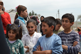 Photo: Children in a camp for Kurdish Internally Displaced People's in Suruç