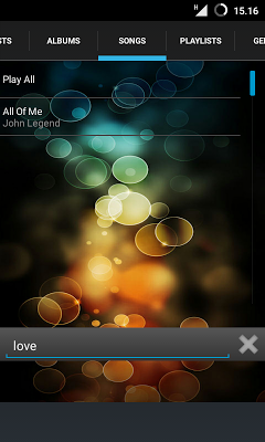 Joo Music Player - screenshot
