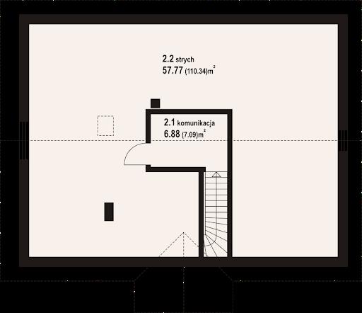 Alamowo m1 - Rzut strychu