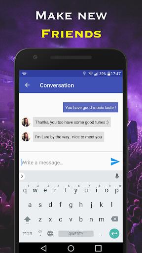 Musik-Dating-App
