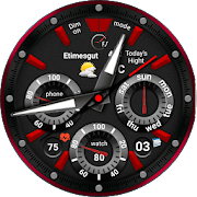 Shield 115 Watch Face For WatchMaker Users