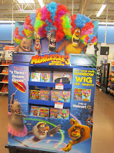 Photo: Our daughter saw this movie and loved it. This is why it caught my eye when I was walking by, I love that you can buy the crazy wig with the dvd or just alone. All of the Madagascar's are great!!
