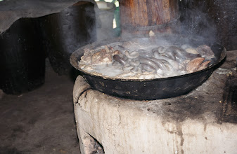 Photo: 03475 シリンホト近郊/ノルボ家/内臓水煮