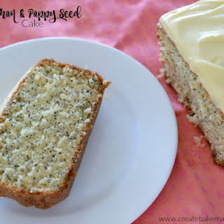 Lemon and Poppy Seed Cake.