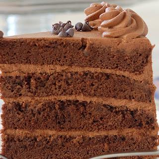 Chocolate Genoise, Chocolate Sponge Cake.