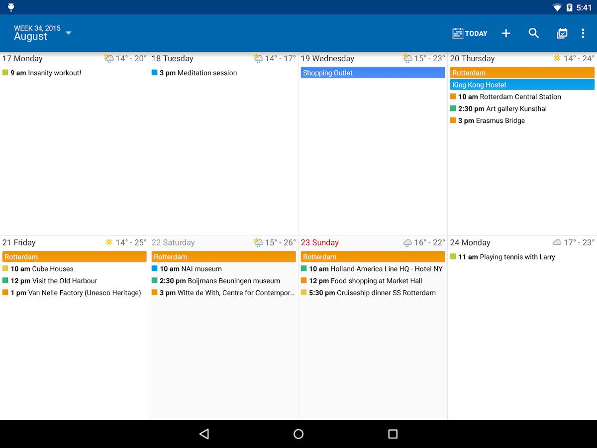 DigiCal+ Calendar- screenshot
