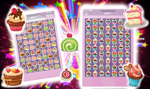 Bombs Cake – Match 3 Game