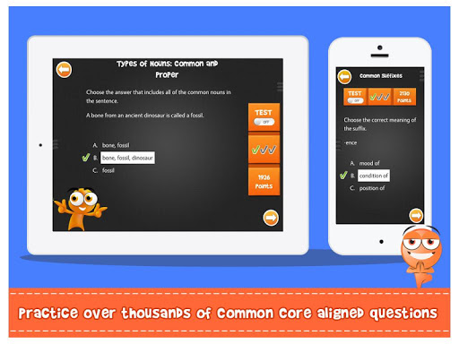 itooch 6th grade language arts screenshot 2