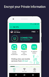 CM Security Open VPN – Free, fast unlimited proxy App Download For Android 4
