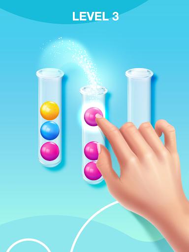 Sort Puzzle: Fun Ball apkpoly screenshots 7